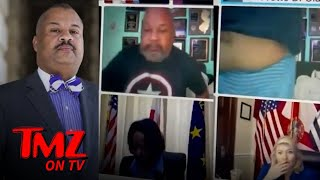 Rep. Donald Payne Jr. Busted in His PJs During Zoom Hearing, Exposes Belly | TMZ TV