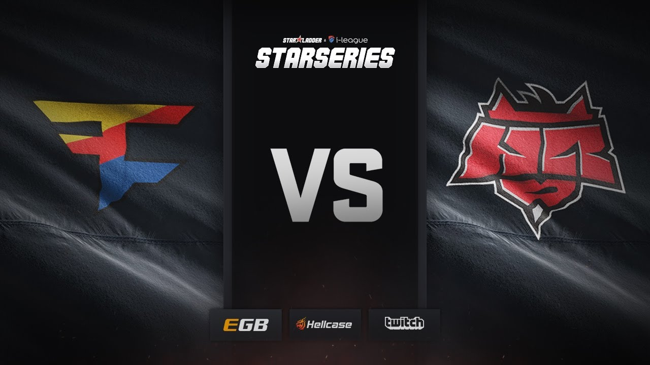 [EN] FaZe vs HellRaisers, map 1 mirage, SL i-League StarSeries Season 3 Finals