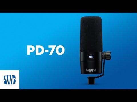 PreSonus—The PD-70 Broadcast Microphone