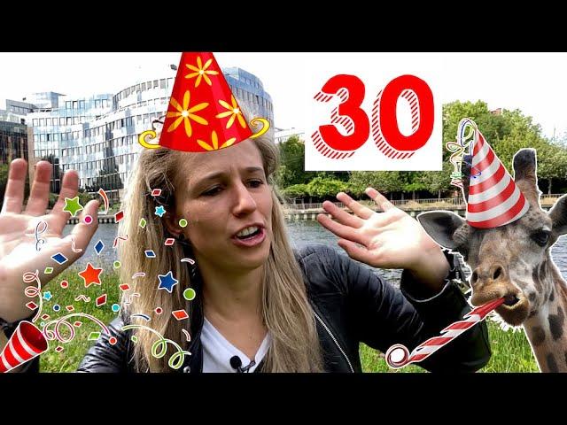 MY BIRTHDAY (+ a strange German superstition)