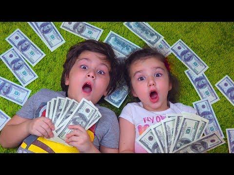Камиль УЗНАЛ что Деньги НЕ НАСТОЯЩИЕ! Аминка РАССТРОИЛАСЬ! Для детей Kids Children