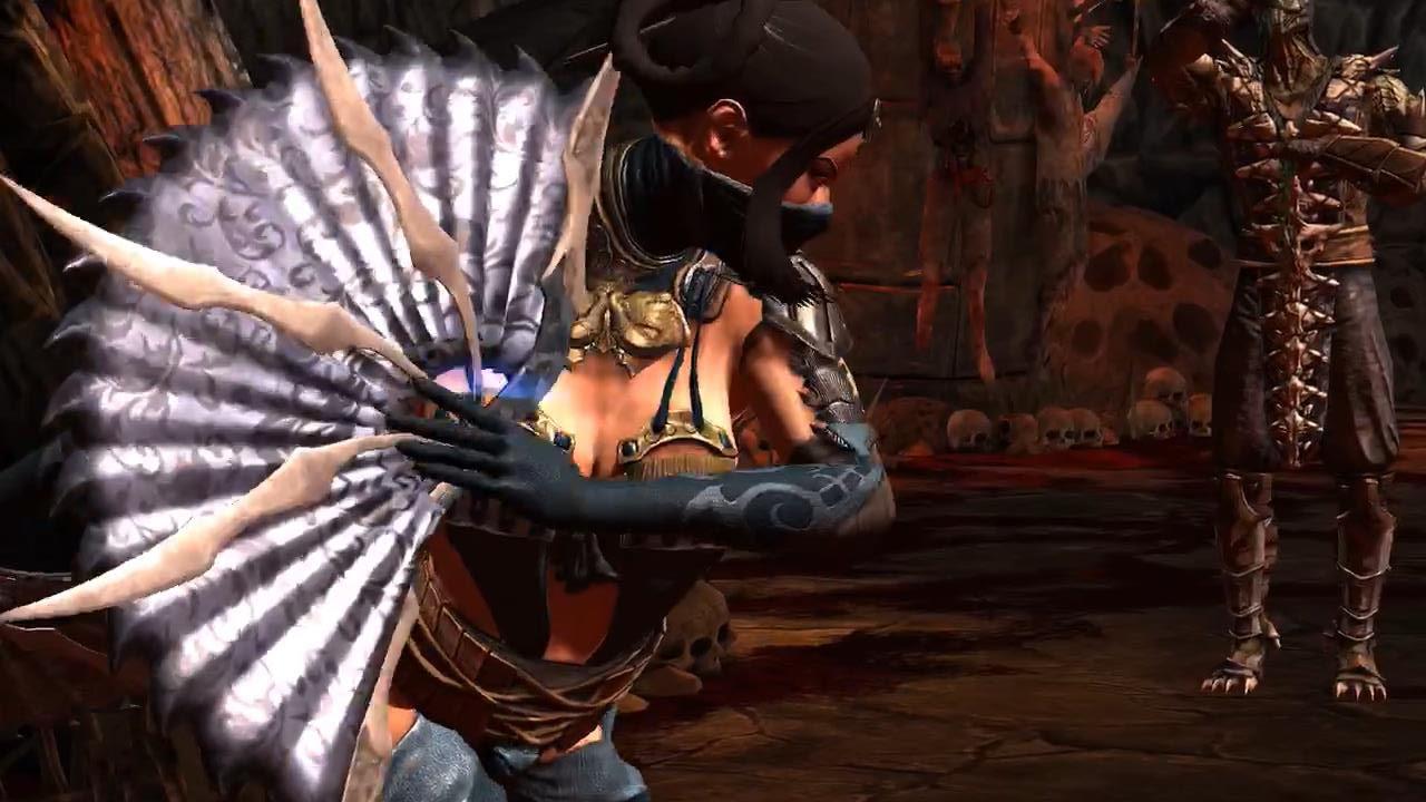 Mortal Kombat X Assassin Kitana Fatality Ipad Android Youtube