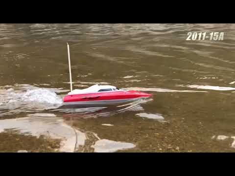 Flytec 2011-15A/B/C 10KM/H RC Boats Mini Speed Boat Toy - YouTube