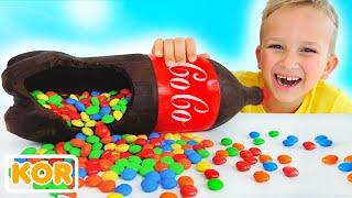 블라드와 니키가 사탕과 과자를 많이 가지고 놀다 | 아이들을위한 컬렉션 비디오