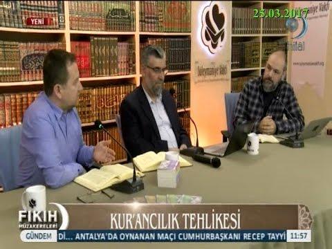 25-03-2017 Kur'ancılık Tehlikesi – Süleymaniye Vakfı Fıkıh Müzakereleri – Hilal TV