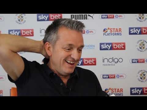 Gary Sweet on the Hatters' promotion to the Championship