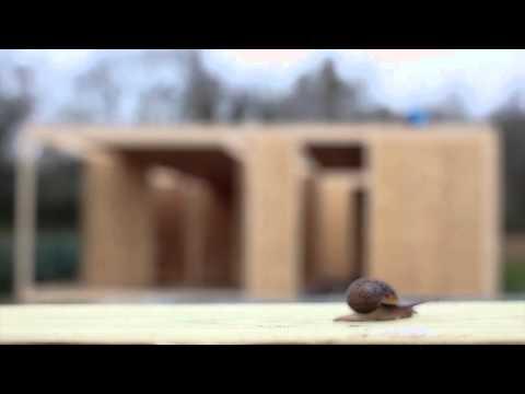 Cómo construir una casa modular prefabricada en 7 días