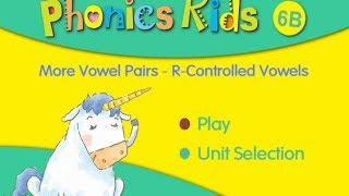 phonics kids 6b 2 more vowel pairs r controlled vowels