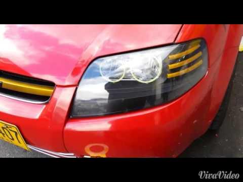 Chevrolet Aveo Five Personalizado De Farola Youtube
