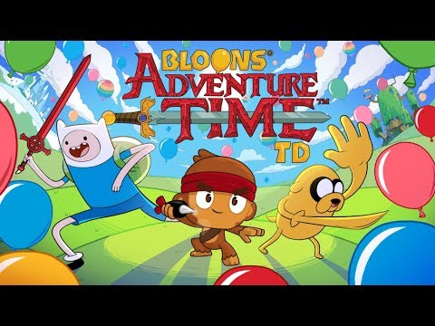 Bloons Adventure Time TD - New Ninja Kiwi Game!