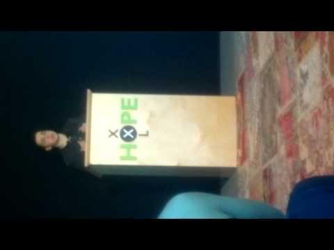 Kwartfinale OWNHL speech Salim Elmakhloufi