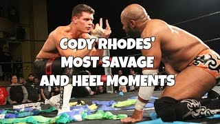 Cody Rhodes' Most Savage and Heel Moments (Out Of The WWE)