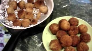 Домашние хлопоты.Картофельные шарики (гарнир для праздничного стола)