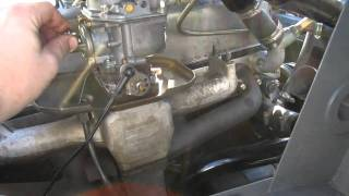 Unimog 404 new engine - first run