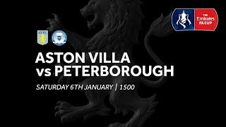 Aston Villa 1-3 Peterborough United | Extended highlights