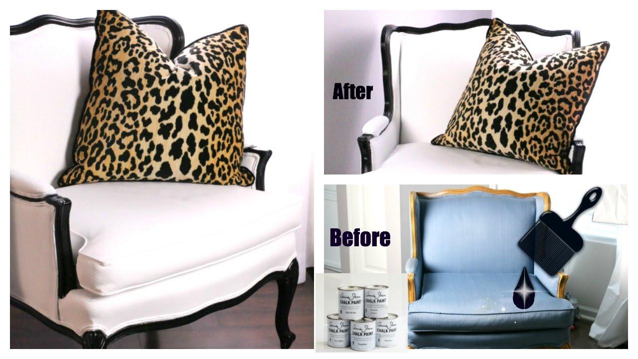 DIY Chalk Paint Chair (JulieSimplyLove)