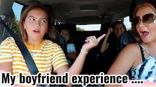 My boyfriend experience  !!!!   SISTERFOREVERVLOGS #802