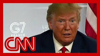 President Trump: I don't blame China, I blame past leadership
