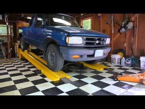 Using the Kwik-Lift Car Ramp