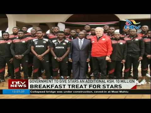 Harambee Stars to get Ksh 50M if they qualify for AFCON