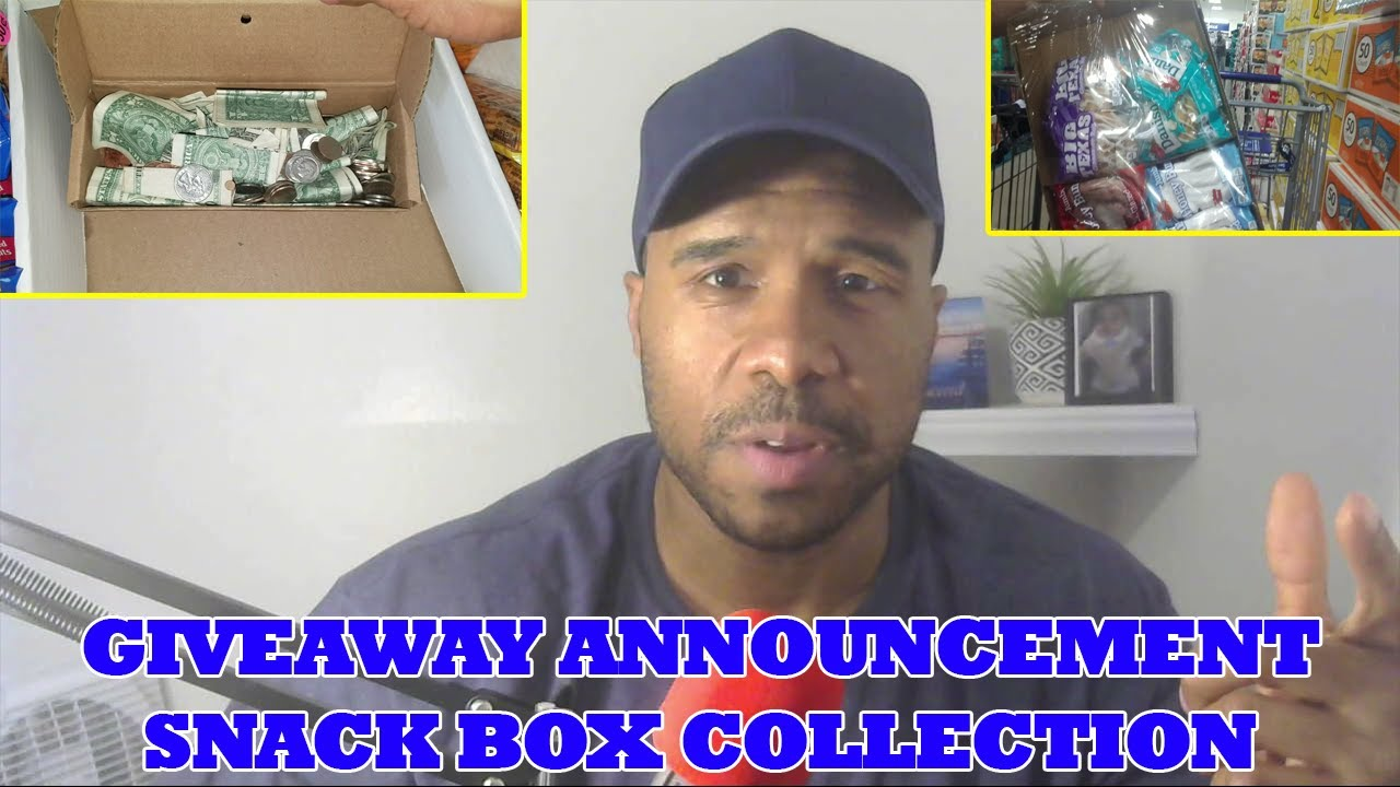 Upcoming Giveaway and Collecting from Snack Honor Boxes