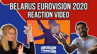 Belarus   Eurovision 2020 Reaction Video   Val - Da Vidna
