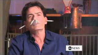 charlie sheen on smoking uncensored