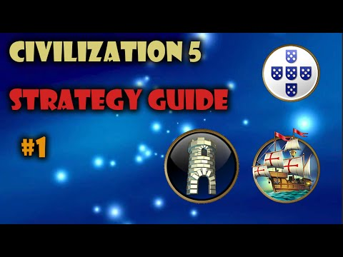 Civ 5 - Brave New World - Strategy Ep.1 (Portugal) |