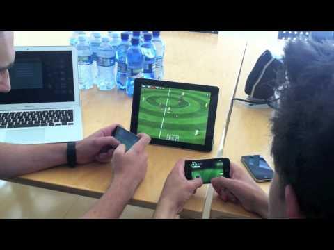 Fifa 12 Ipad Iphone Controller Fifa 12 Iphone Come Controller
