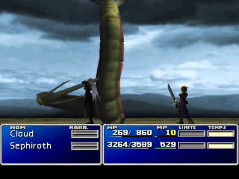 FF7 : Play with Sephiroth until Mythril Mines (PC version)