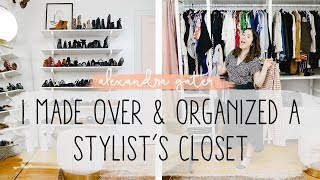 I MADE OVER A STYLIST'S RENTAL APARTMENT CLOSET | IKEA CLOSET