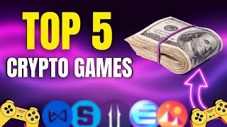 Top 5 best Play to Earn Blockchain Games (Play & EARN NOW)