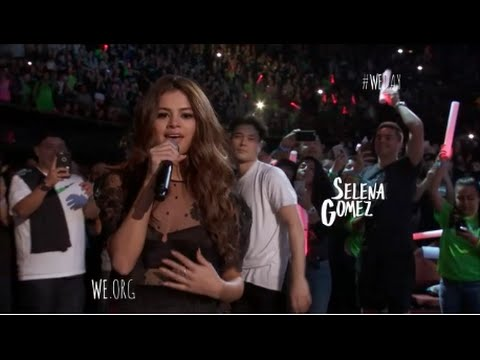 Selena Gomez Performs Kill Em With Kindness At We Day California 472016 HD