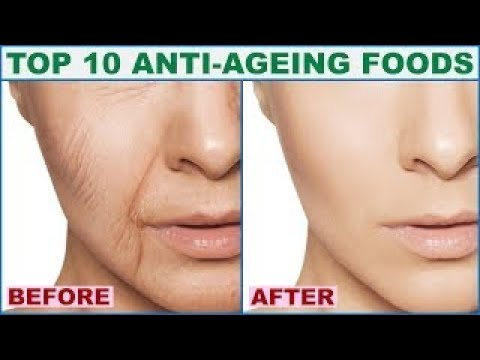 Top 10 Anti Aging Foods To Get Younger Glowing Skin | Anti Aging Secrets
