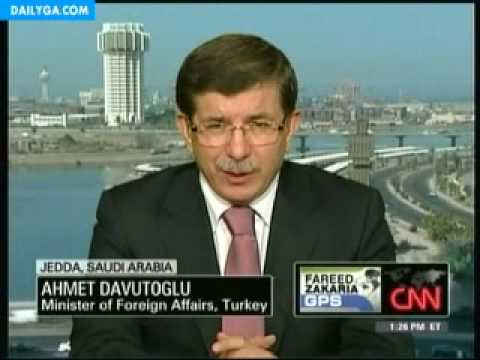 "Turkish Foreign Minister Ahmet Davutoglu ""Nobody has the right to kill our citizens."""