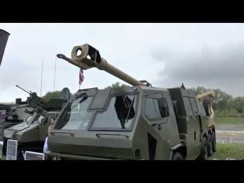 DVD 2016: BAE Systems' M777 Portee concept vehicle