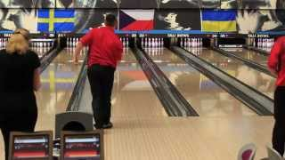 Top 10 Bowling Styles in Ballmaster Open 2012 (slow motion HD)