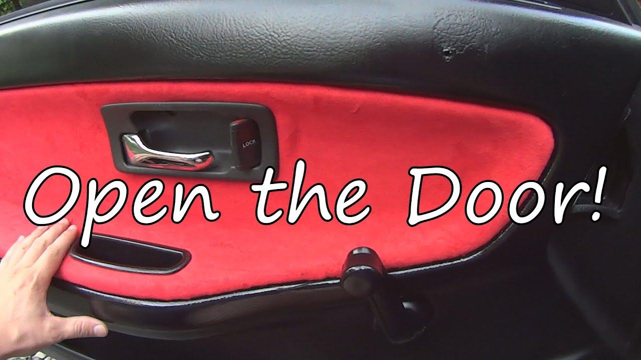 Project Da9 Ep 11 Integra Interior Door Handle Repair Youtube