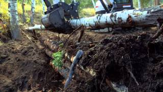 Build A Pond With Bobcat Equipment