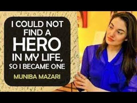 Muniba Mazari Pakistan : Pakistan's Iron Lady   Never Give Up