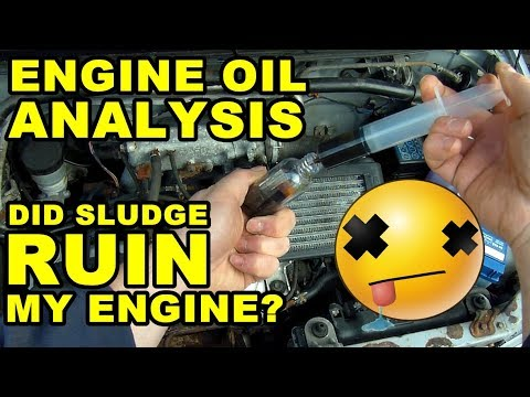 Sludge Free? Engine Oil Analysis - Daihatsu Cuore Avanzato TR-XX R4