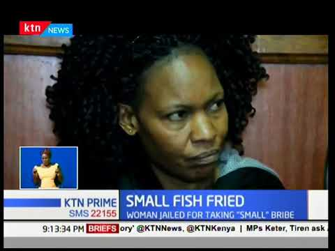 Anti-corruption court sitting in Nairobi sentences middle aged lady  to two years in prison