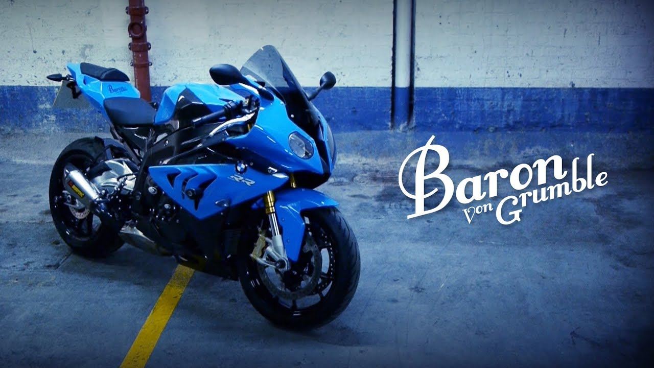 BMW s1000rr - Static in London - YouTube
