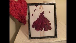 Rose Petals dress