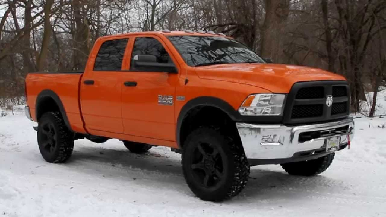 2015 Ram 2500 Tradesman Lifted Power Wagon 777 Customs Upfit Youtube