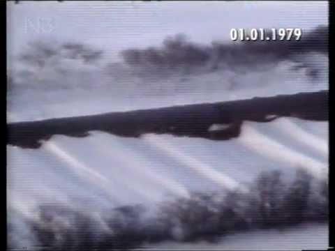 Tagesschau 1.1.1979  Schneechaos Norddeutschland
