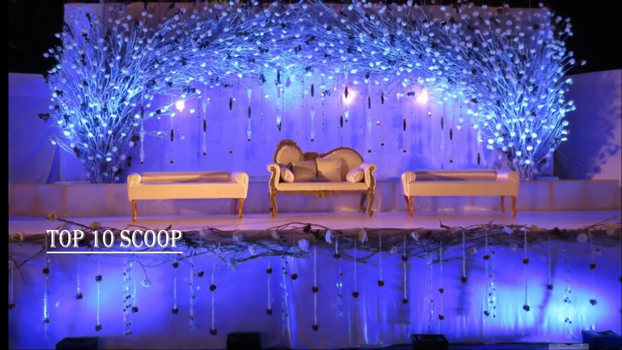 Top 10 Wedding Stage Decoration Ideas Youtube