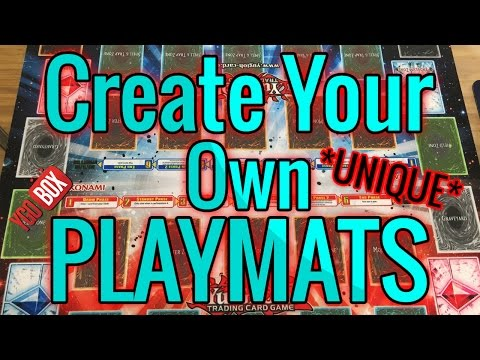 Create Your Own Playmats! :)