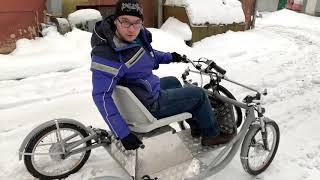 видео: ECar. Зима