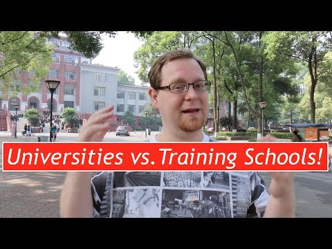 Teach English In China: Pros And Cons   Training Schools Vs. Universities